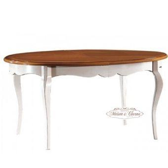 Tavolo Ovale ROMA B Shabby Chic