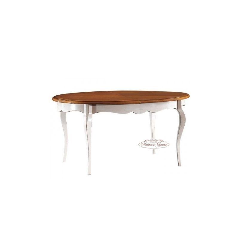 Tavolo ovale roma b shabby chic tavoli - Tavoli in stile provenzale ...