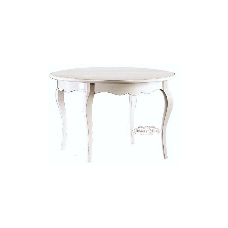 Tavolo rotondo roma a in legno shabby chic tavoli - Tavolo shabby ...
