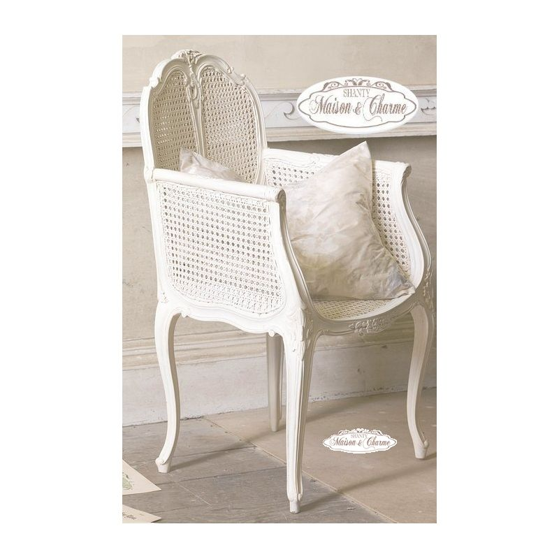 Poltrona denise shabby chic sedie e poltrone for Poltrone shabby