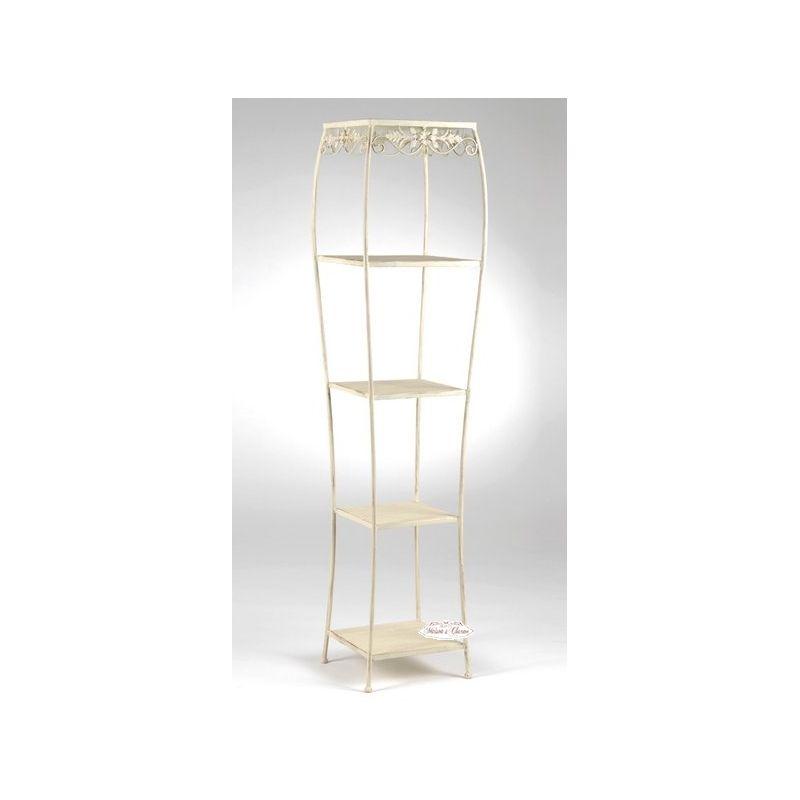 Scaffale auxelle shabby mobili in ferro - Mobili in ferro ...