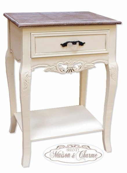 Tavolo Country Chic Comodino Shabby Chic Stile Country Pictures to pin on Pin...