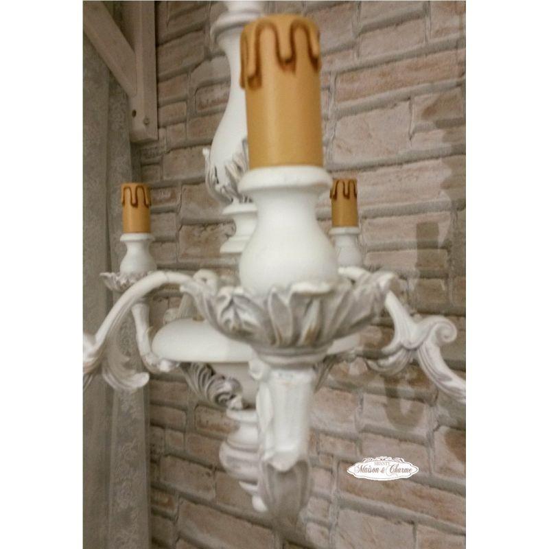Lampadario romantic 5 shabby chic lampadari   lampade