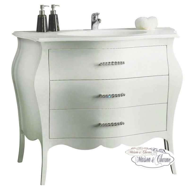 Mobile bagno roma 1 shabby mobili bagno for Arredamento country on line