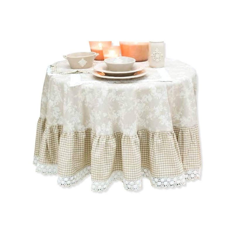 Stampa per salotto for Tende shabby chic on line