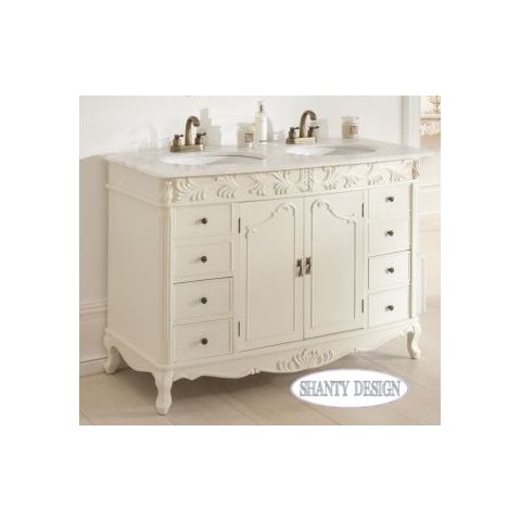 Mobile bagno chanel 1 shabby chic mobili bagno - Mobili da bagno shabby chic ...