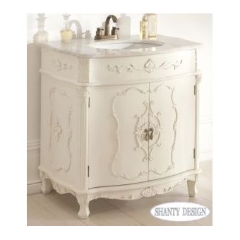 Mobili bagno shabby chic e stile country online - Mobili shabby chic bagno ...
