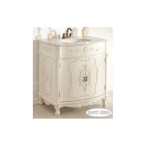 ... MOBILI SHABBY CHIC > Mobili Bagno > Mobile Bagno CHANEL 3 Shabby Chic