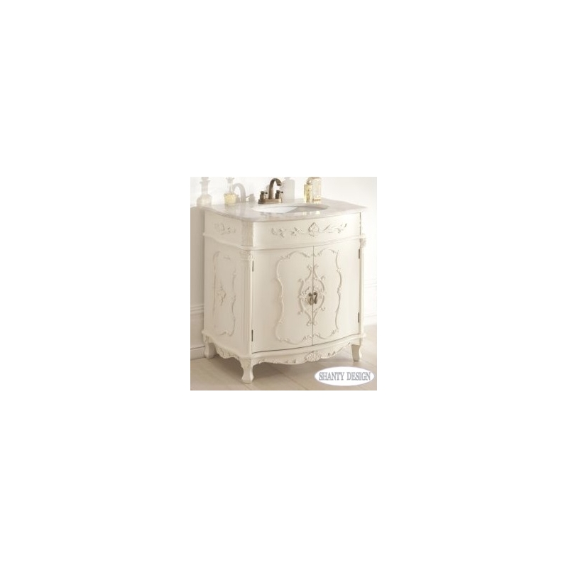 Mobile bagno chanel 3 shabby chic mobili bagno - Mobili da bagno shabby chic ...