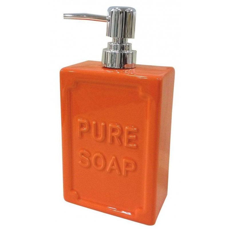 Erogatore arancione bagno shabby accessori bagno - Bagno arancione ...