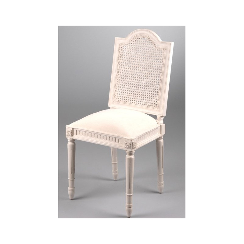 Sedia claire shabby sedie e poltrone for Sedia design paglia di vienna