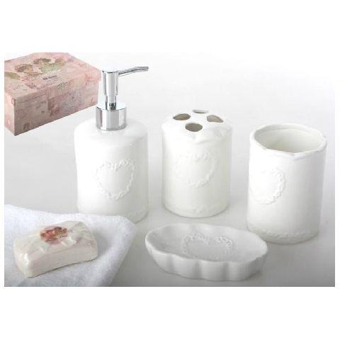 Set accessori bagno roma 3 provenzale accessori bagno - Accessori bagno roma ...