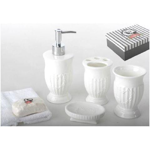 set accessori bagno roma 4 provenzale accessori bagno