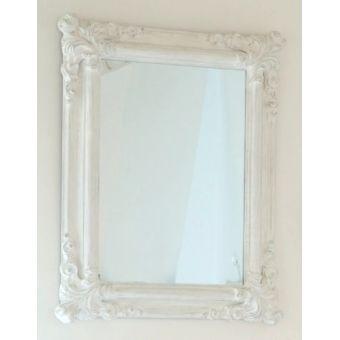 Specchio shabby chic complementi d 39 arredo in stile provenzale - Specchio ovale shabby chic ...