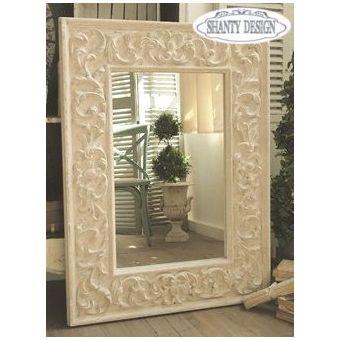specchio denise shabby chic specchio intarsiato in stile shabby chic