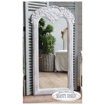 specchio loire country chic specchio con fregio in stile country chic ...