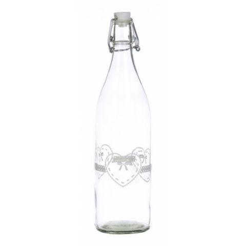 Bottiglia cuore acqua vino shabby chic accessori cucina - Accessori vino design ...