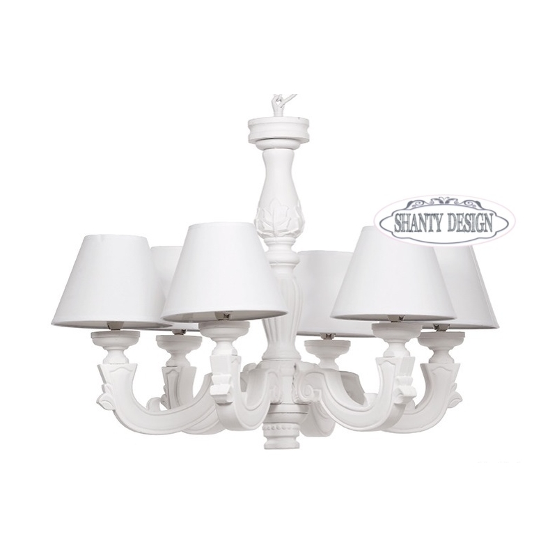 Lampadario 6 Luci Blanc Maricl? Pictures to pin on Pinterest