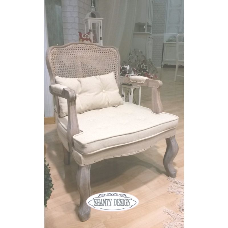 Poltrona vienna shabby chic sedie for Poltrone design outlet online