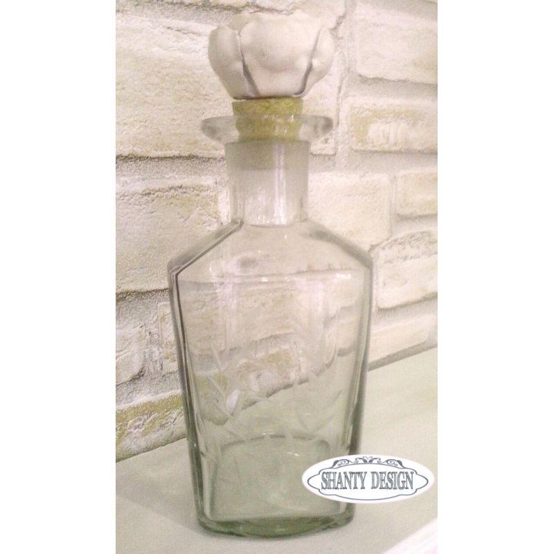 Bottiglia ampolla cusine juliet shabby chic accessori cucina