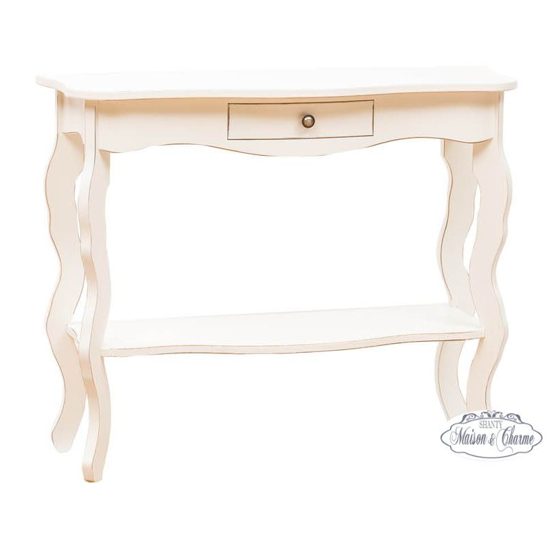 Consolle roma 1 shabby chic consolle for Consolle shabby chic