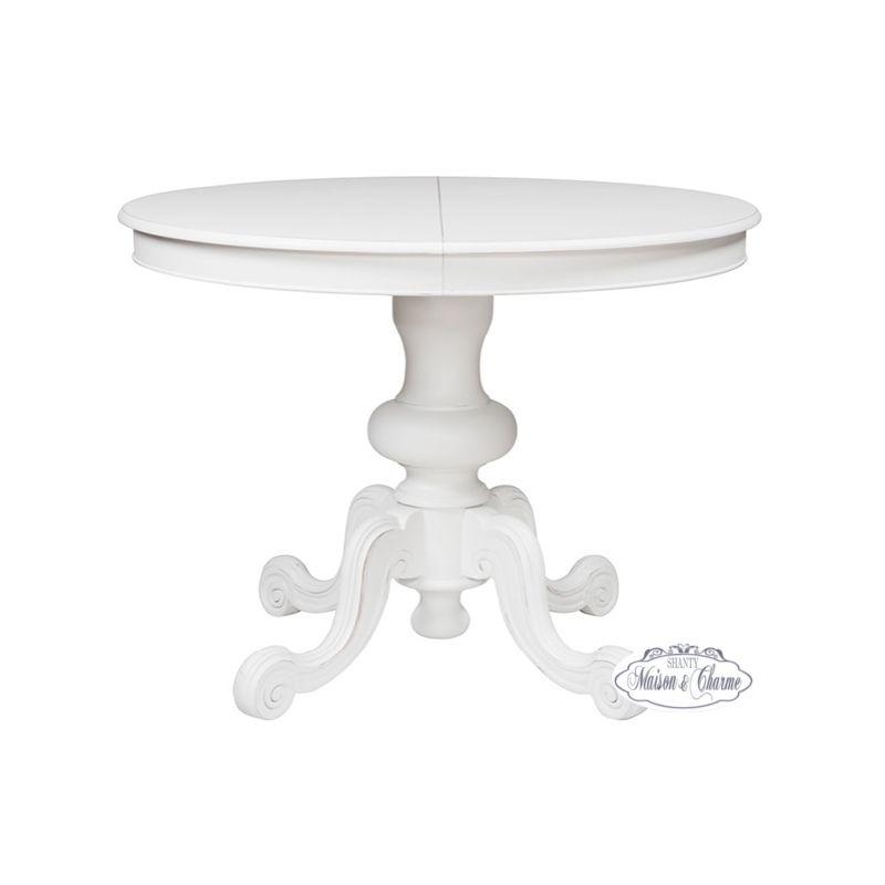 Tavolo tondo provence 2 shabby chic tavoli - Tavolo quadrato allungabile shabby chic ...
