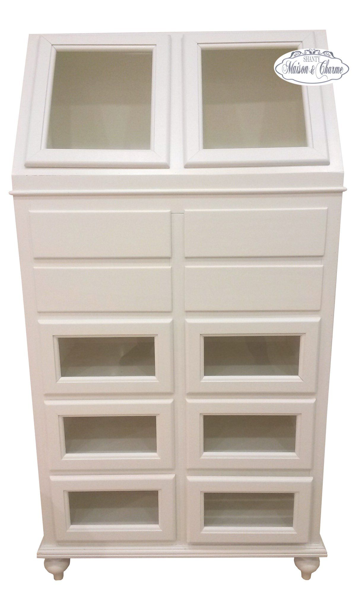 Dispensa julie shabby chic credenze buffet for Credenze shabby chic ikea