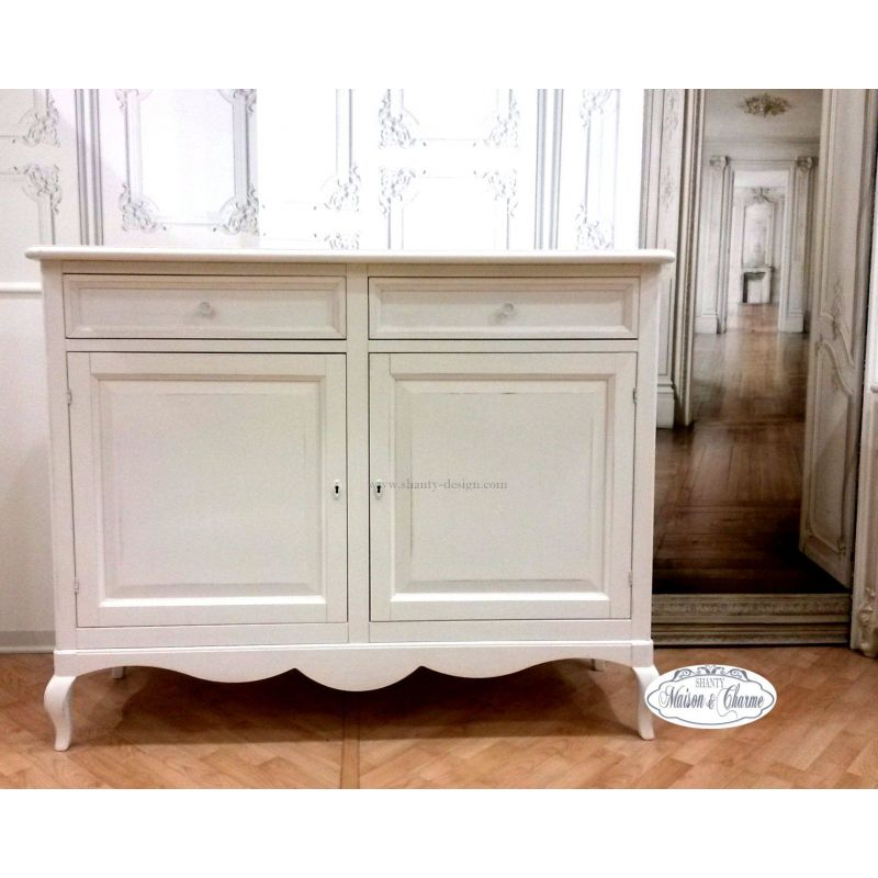 Buffet roma 5 shabby chic credenze buffet for Mobili buffet bassi