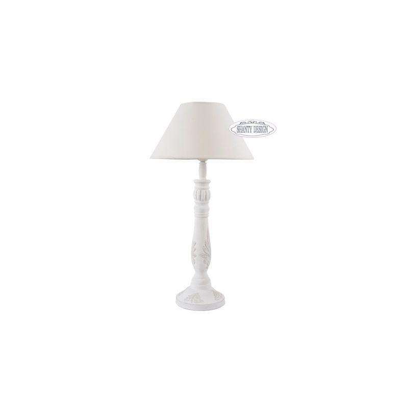 Lampada tavolo denise 6 shabby chic lampadari lampade for Lampade shabby chic online