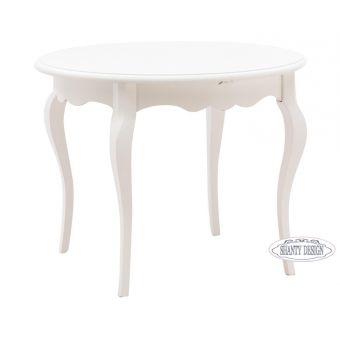 Tavolo Rotondo ROMA A in Legno Shabby Chic