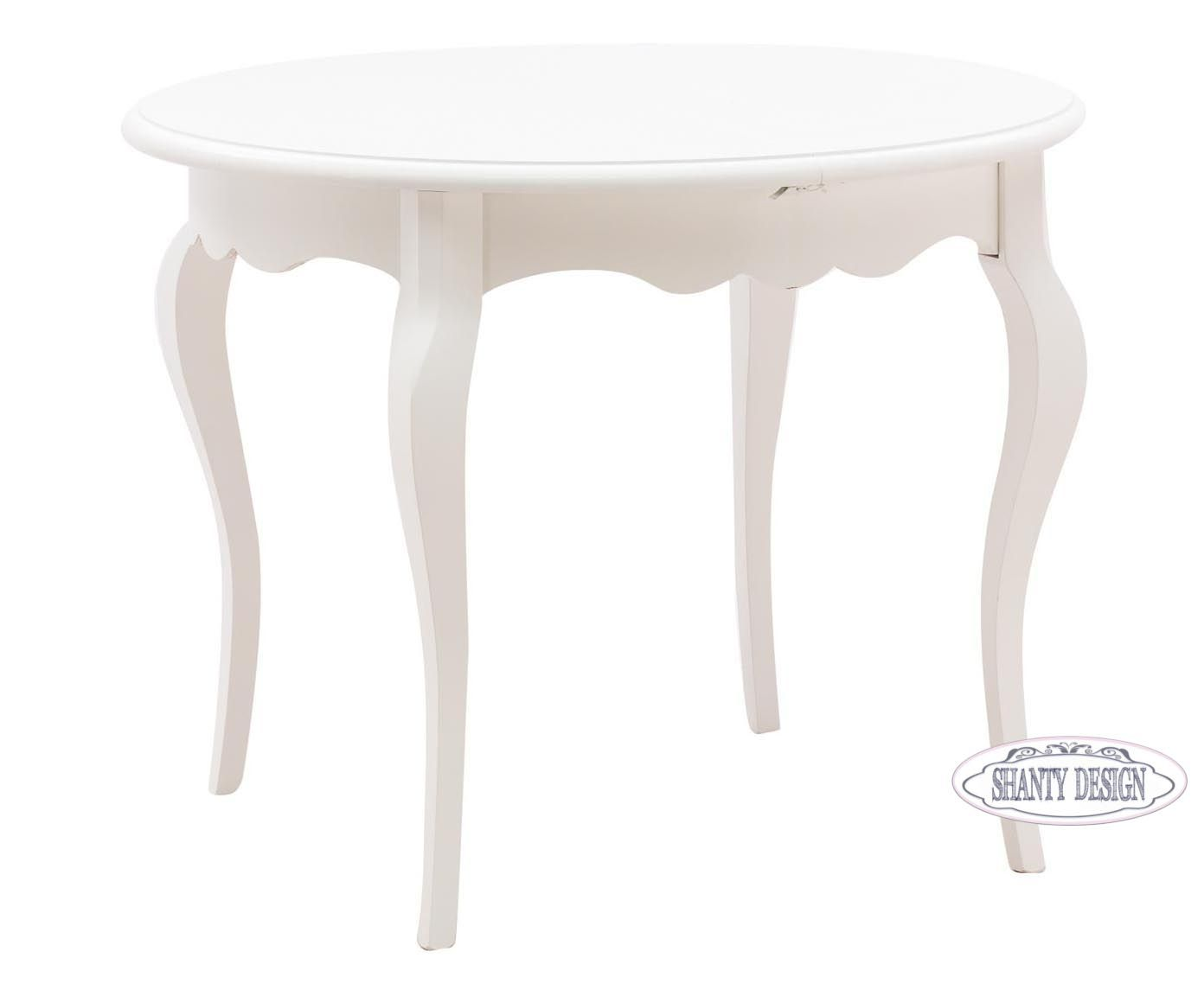 Sedie Shabby Chic Vendita : Tavolo bianco decapato shabby chic mobili provenzali on line