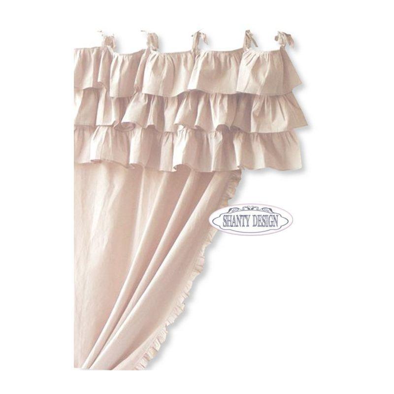 Tenda con Mantovana VIENNA 1 Shabby Chic