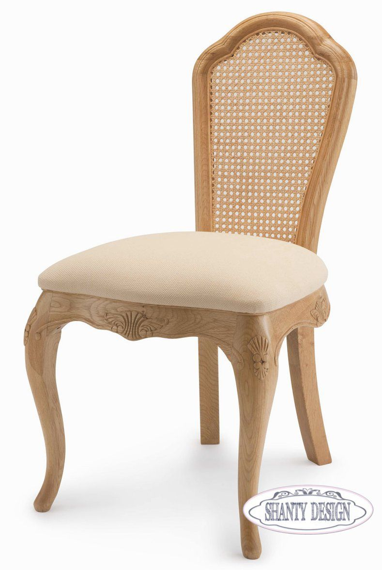 Poltroncina provenzale clarissa 4 country sedie shabby chic for Chairs to put in bedroom