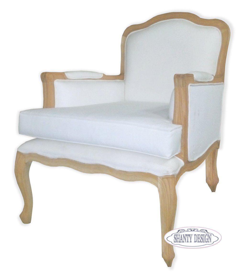 Poltrona shabby chic clarissa 2 sedie for Poltrone da tv