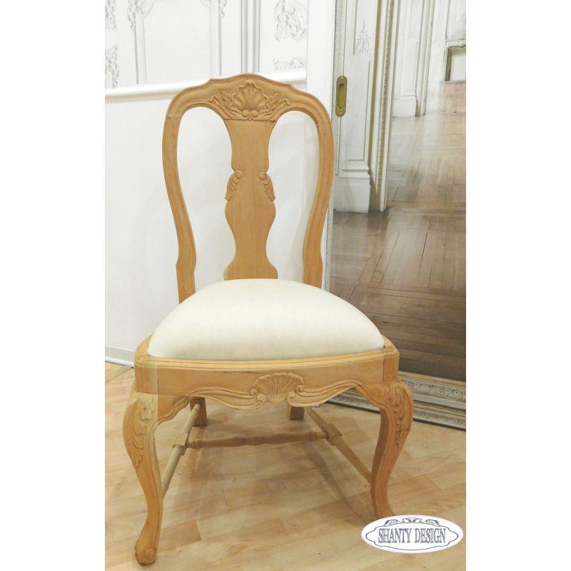 Sedia shabby chic clarissa 1 sedie for Sedia a dondolo provenzale