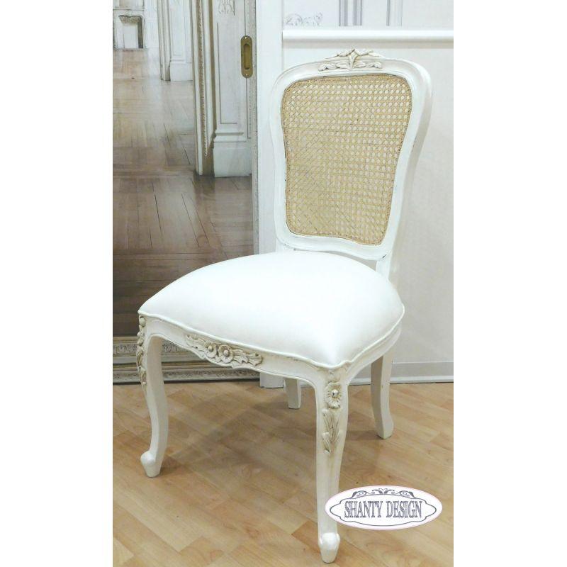 Sedia shabby chic clarissa 5 sedie for Sedie design on line