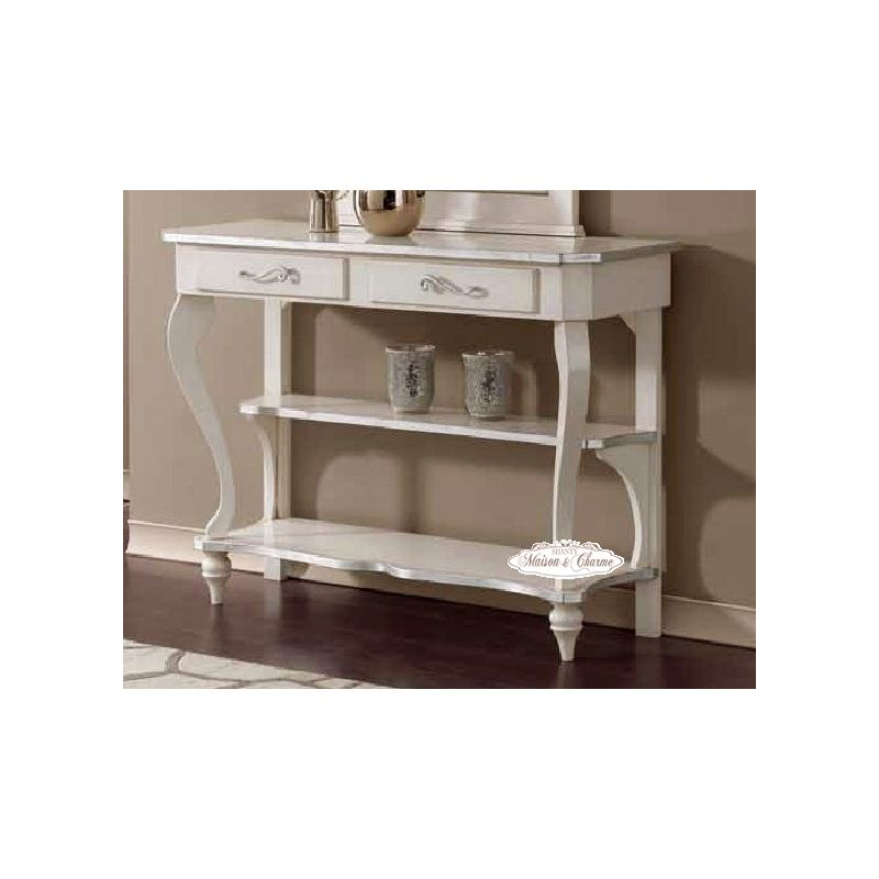 Consolle Bianca Provenzale.Consolle Roma 2 Shabby