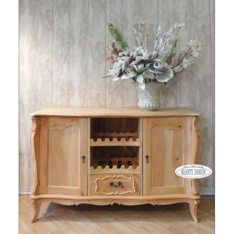 buffet vino shabby chic clarissa 2 credenze buffet. Black Bedroom Furniture Sets. Home Design Ideas