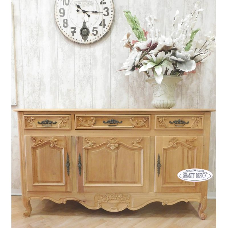 buffet madia shabby chic clarissa 1 credenze buffet. Black Bedroom Furniture Sets. Home Design Ideas