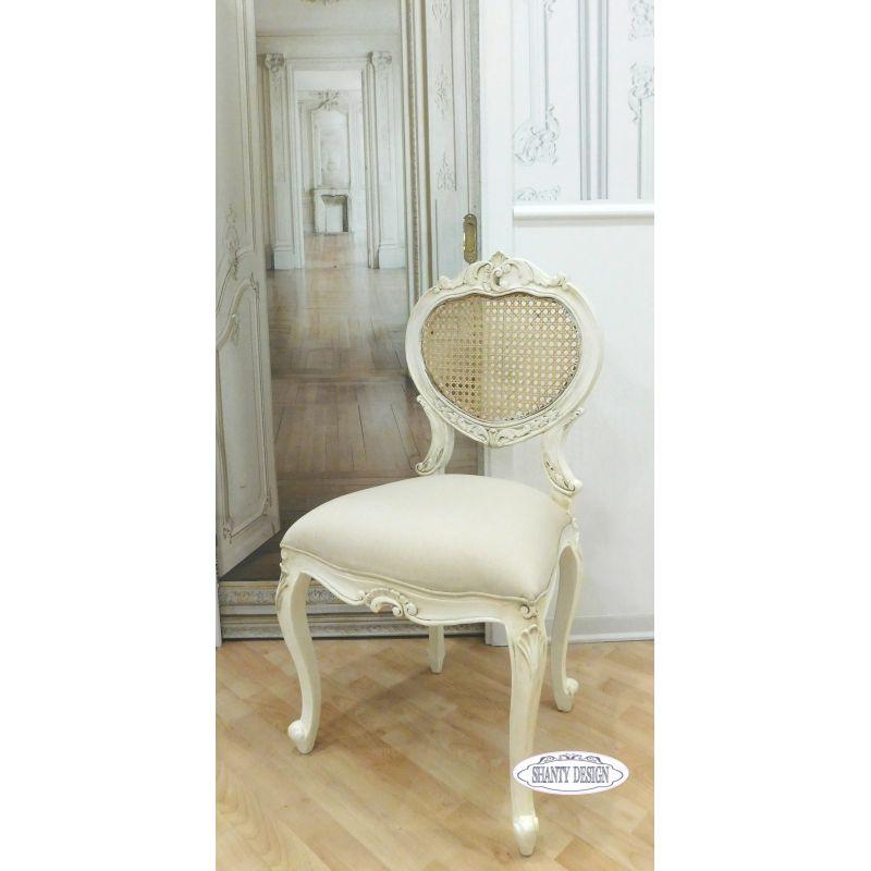 Poltroncina provenzale clarissa 5 country sedie e poltrone for Poltrone country chic