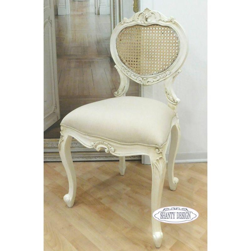 Poltroncina provenzale clarissa 5 country sedie shabby chic - Copridivano stile provenzale ...