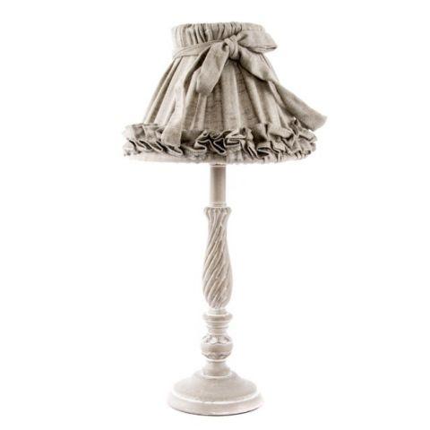 lampada tavolo romantic 1 shabby chic lampadari lampade. Black Bedroom Furniture Sets. Home Design Ideas