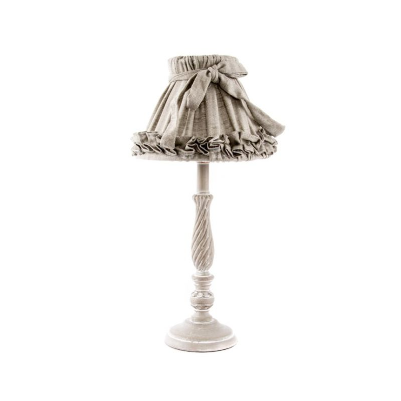 lampada tavolo romantic 1 shabby chic lampadari lampade. Black Bedroom Furniture Sets. Home Design Ideas