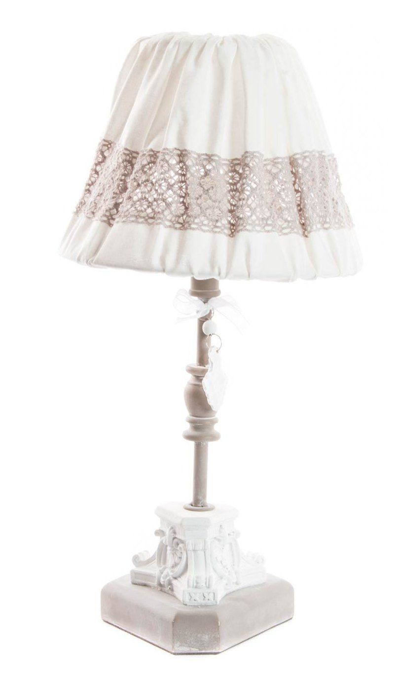 Lampada tavolo romantic 3 shabby chic lampadari lampade for Dalani lampade