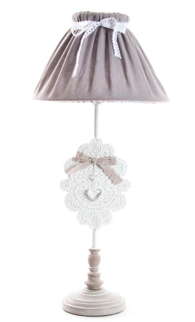 Lampada Da Comodino Romantic 4 Shabby Chic Lampadari Lampade