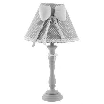 lampada abatjour per comodino romantic 2 in legno decape bianco stile provenzale a roma online