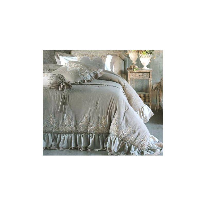 Trapunta Matrimoniale ROMANTIC 2 Shabby Chic Biancheria Letto / Boutis - Lenzuola