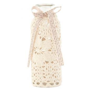 bottiglia ampolla vetro shabby chic per profumo e bagno stile provenzale countryno stile provenzale country