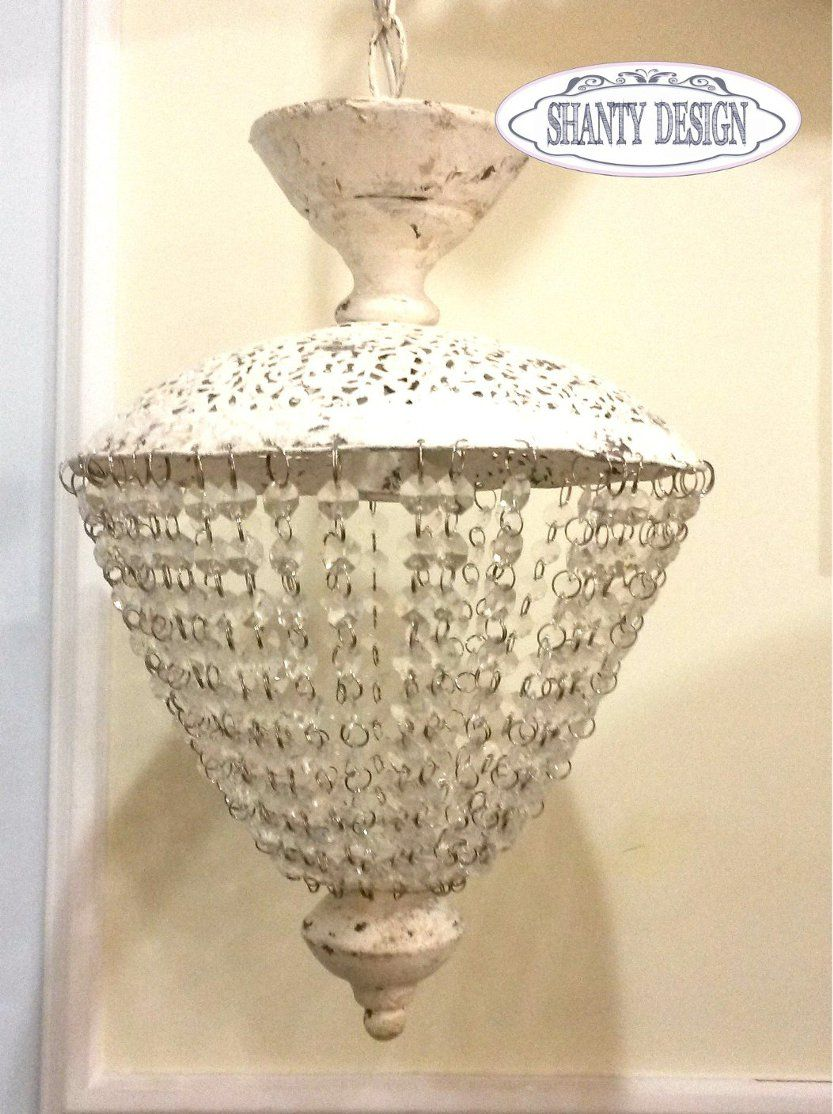 Lampadario shabby chic antique 1 lampadari lampade - Lampadario da bagno ...