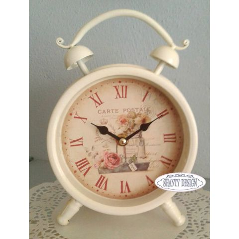 Sveglia romantic 2 shabby chic orologi for Orologio shabby chic